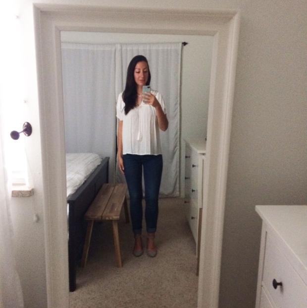 Stitch Fix for Summer_Jenti Shoulder Slit Top 2