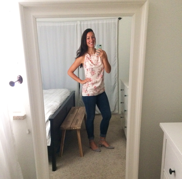 Stitch Fix for Summer_Kaddy Braided Halter Blouse