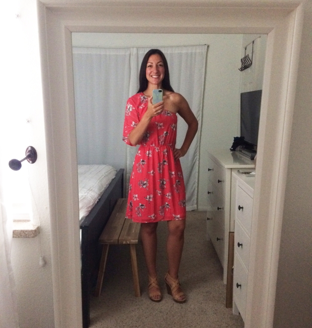 Stitch Fix for Summer_Lora One Shoulder Dress 2