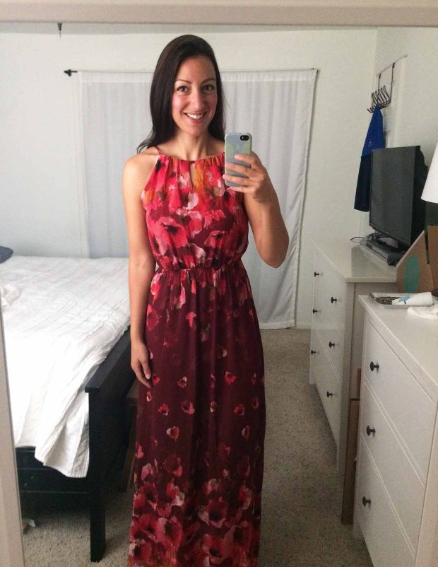 Stitch Fix for Summer_Ruby Maxi Dress 2