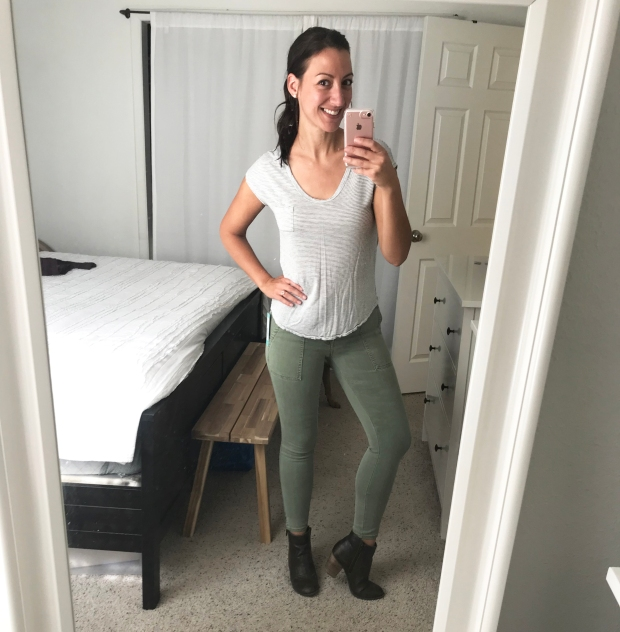 Brooks Crop Cargo Skinny Pant by Pistola, Stitch Fix 2